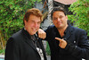"09-07-10, Pete Allman and Damian Chapa, after the So You Photography Interview by Pete Allman. : DOWNLOAD INSTRUCTIONS:  NOTE: These images are free of ""water marks"". You have the choice of several different sizes. For The largest size download available through this gallery, put your cursor over the large image and click on ""original"" before continuing with the download procedure. The ""original"" size files in this gallery are compressed. They will produce good quality prints up to 14 inches in size. For prints larger than 14 inches and high resolution files, contact us for the ""original"" .jpg files as they came out of our camera. Call: 1-818-271-9116  Method 1: Move your mouse over the main image in the gallery. You'll see a save photo icon. Click it. That's all there is to it.  Method 2: Alternatively, you can move your mouse over the main image displayed, then on original. The photo will be displayed (it will be very large). Right-click (Windows) anywhere on the photo and a small menu will pop up; choose Save Image As...  NOTE: When using our photographs, please use the following when giving us credit for the image: Photo credit: http://www.SoYouPhotography.com"